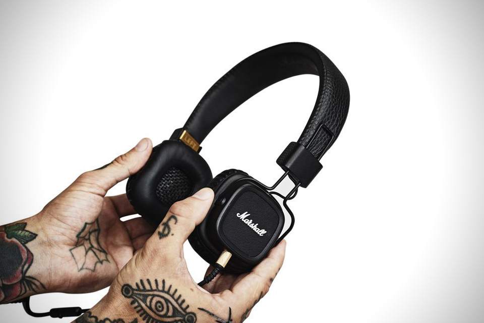 Marshall-Major-II-Black-Headphones-2