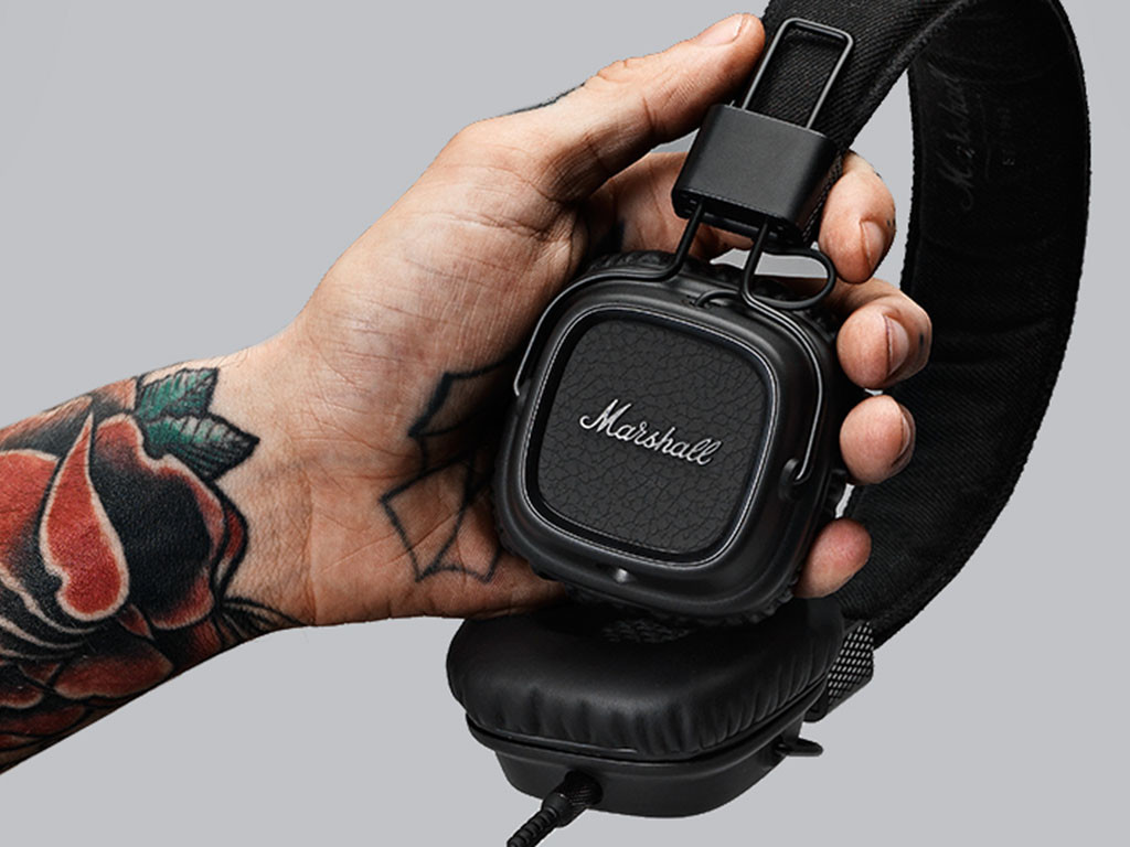 casque-marshall-major-ii-pitch-black-3