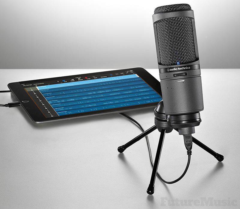 audiotechnica-at2020usbi-ipad