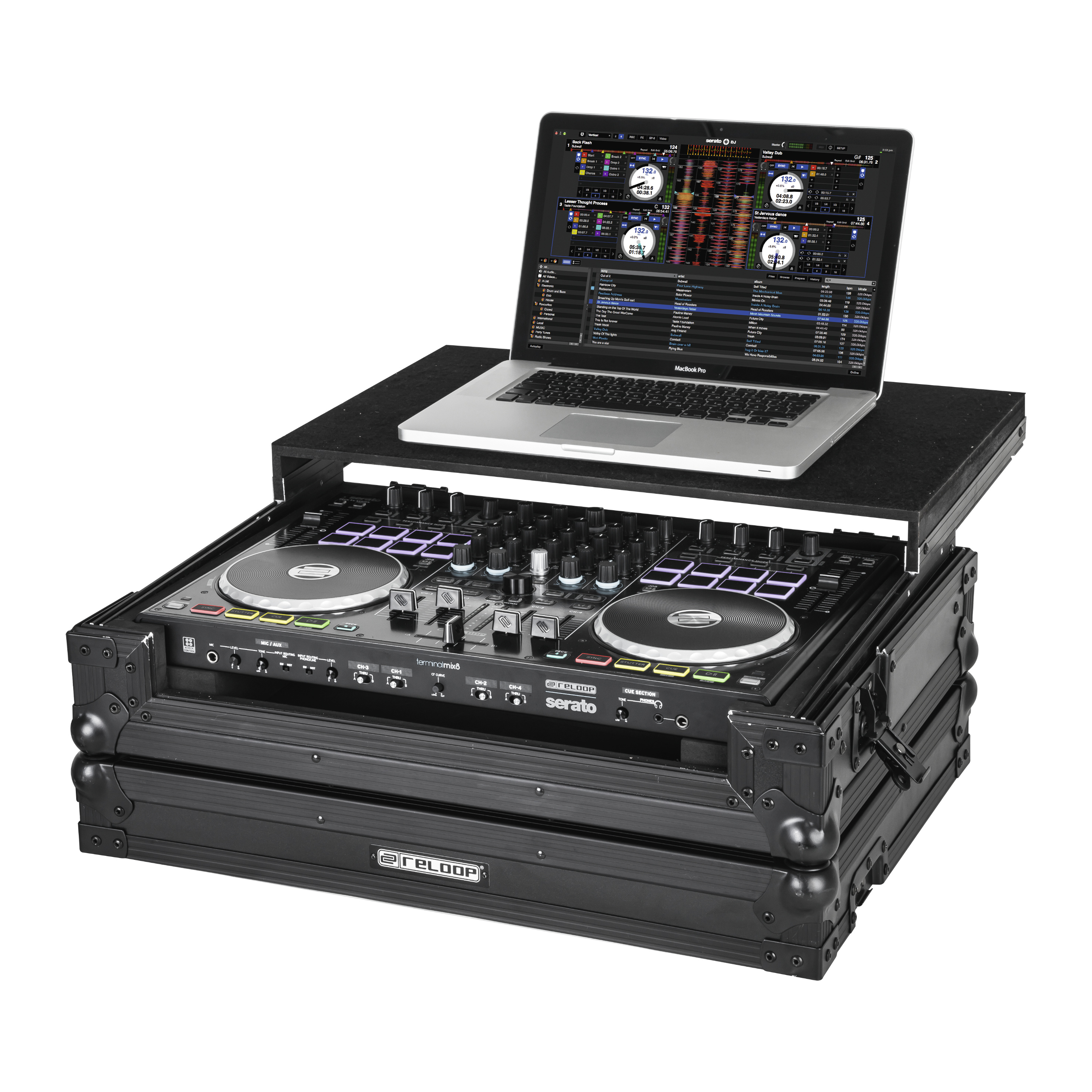 Reloop Terminal Mix 8 Case LED