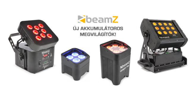 Nagy tudású akkumulátoros megvilágítók a Beamz-től