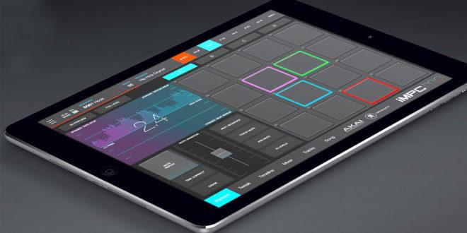 Az iMPC Pro 2,  hordozható MPC iPad-re
