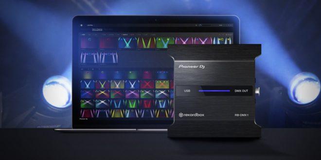 Pioneer RBDMX-1 interface és Rekordbox 5.2 frissítés