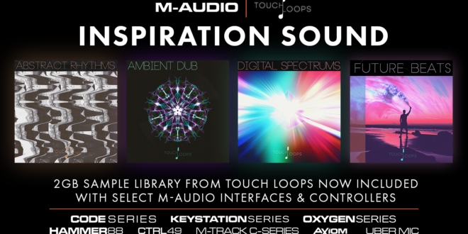 M-Audio és a Touch Loops