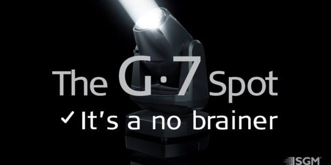 Új SGM G-7 Spot mozgófejes lámpa