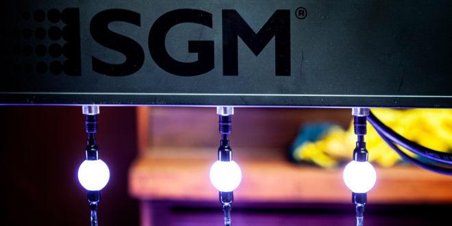 """""""Hűha"""" vizualizáció SGM LED gömbökkel"""