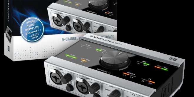 Komplete Audio 6 – Kis kártya, sok extra, akciós ár!