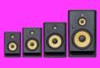 G4-es Rokit stúdiómonitor család a KRK-tól
