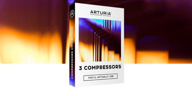 Vintage kompresszor plugin trió az Arturiától
