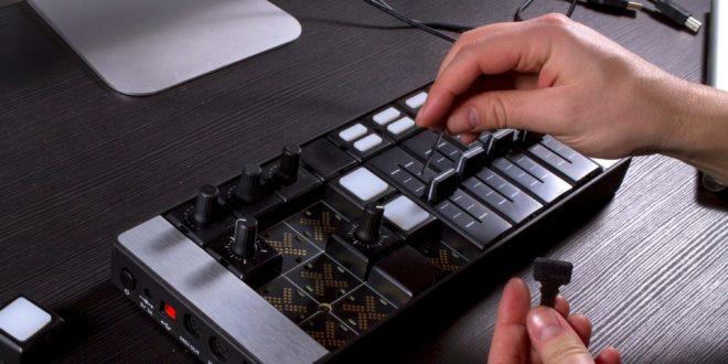 Mine S moduláris MIDI vezérlő