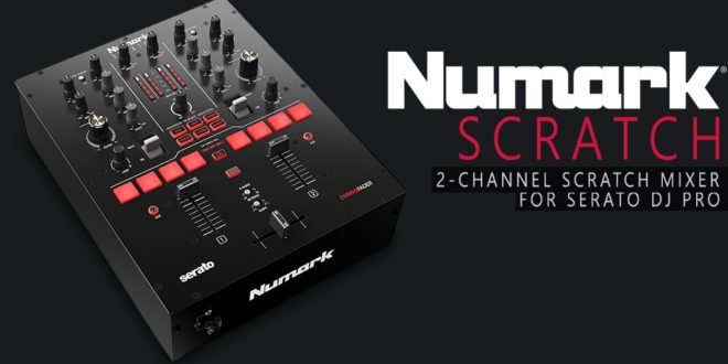 Új battle mixer: Numark Scratch