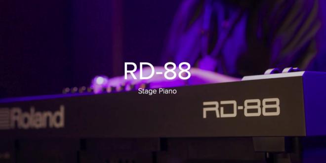 NAMM 2020: RD-88 SZÍNPADI ZONGORA